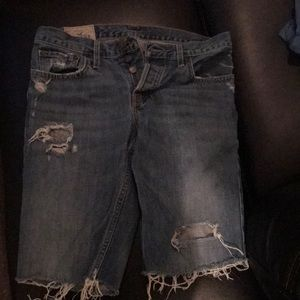 Hollister destroyed Jean shorts